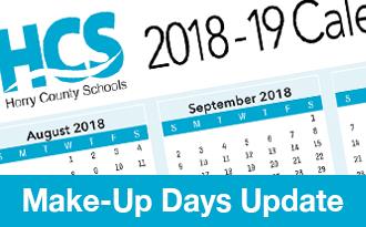 hcs make up days update