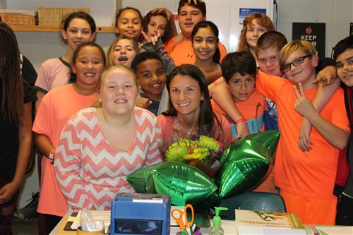 Ms. Novielli- FMS Teacher of the Year