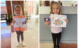 CD - K Red Ribbon Week Coloring Contest