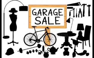 image of garage sale