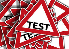 image of testing signs