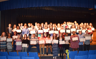 Image of Beta Club members