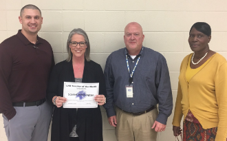 Teacher of the Month - Congratulations to Scarlet Whittington!