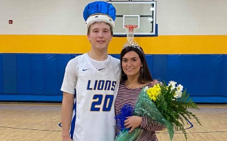 Homecoming Winter King & Queen Crowned