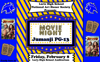 image of movie night information