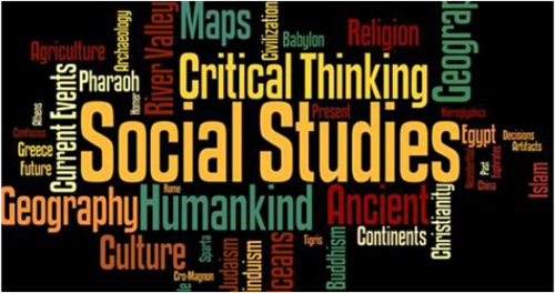 image of social studies wordle