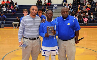 Coach's Award Randall Bellamy