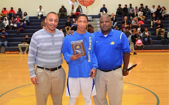 Most Valuable Player Jaleel Chestnut