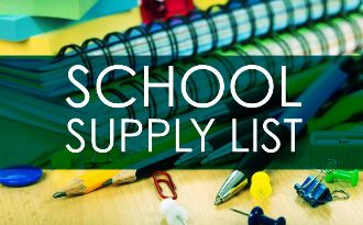 2018-2019 School Supply List