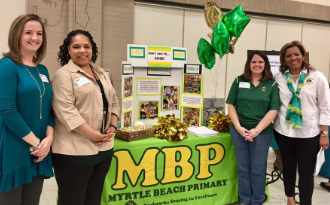 The NEW MBP at the Horry County Job Fair at Conway High School