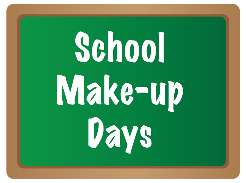 Student Make Up Day for Inclement Weather