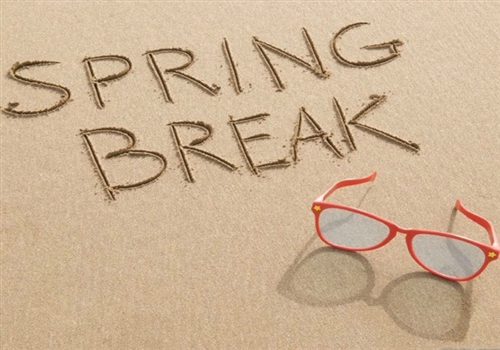 Spring Break April 15-22