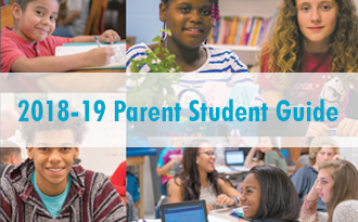 The 2018-2019 Student Parent Guide is now available