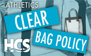 Photo of Clear Bag Policy