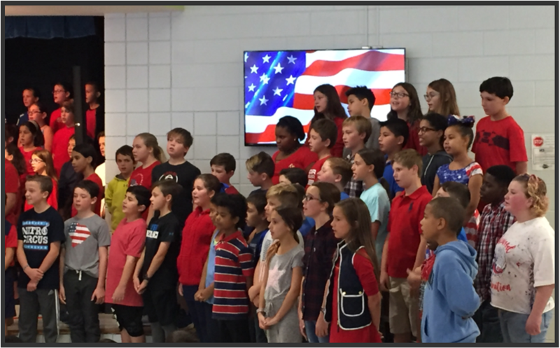 5th Grade Salute to Veterans
