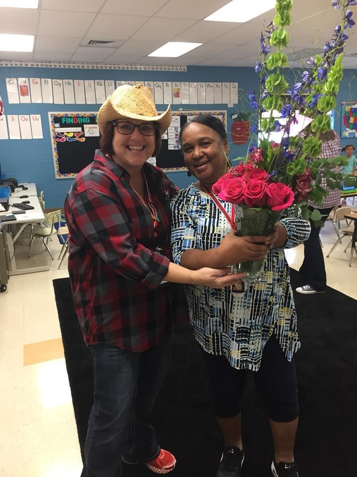 Ms. Gore, Support Staff of the Year