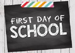First Day of School for 2018-2019/Calendar