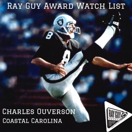 Scholars Academy Alumni Added to the Ray Guy Award Watch List