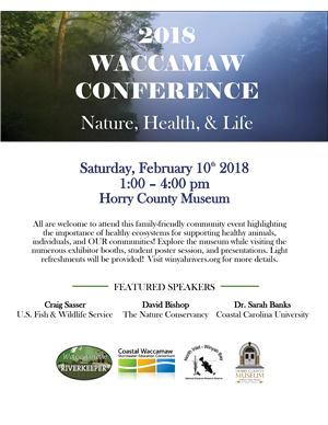 Flyer about Waccamaw Conference