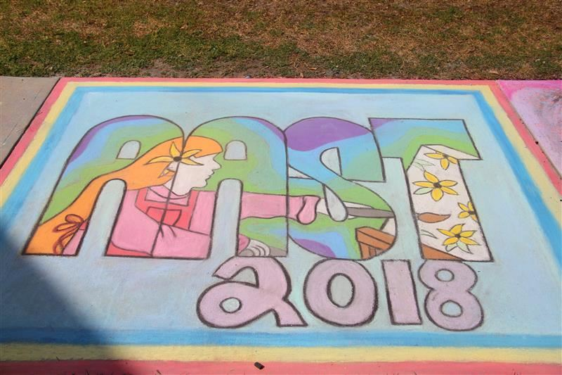 Sidewalk Chalk Day