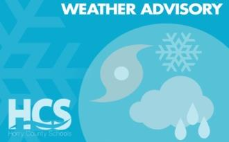 Image of HCS Weather Advisory