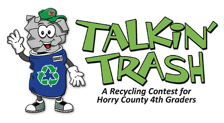 Solid Waste Authority's Talking Trash Recycling Contest logo