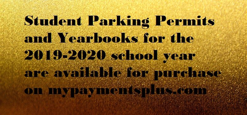 Parking Permit and Yearbook Purchases