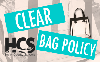 HCS Announces Athletics Clear Bag Policy In order to provide a safe and secure environment for our parents, community members, students, athletes, staff, and officials.