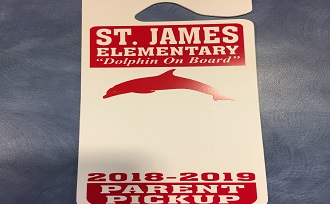 SJE 2018-2019 CAR TAGS