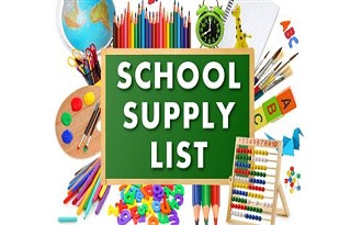 SJE 2018-2019  School Supply List