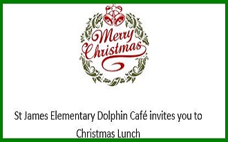 St. James Elementary Christmas Luncheon - Click here for more information.