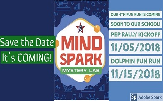 SJE Boosterthon - Mind Spark Mystery Lab coming soon!