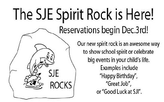 SJE Spirit Rock is HERE!