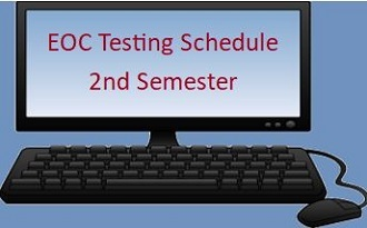 EOC / Exam Test Dates 2nd Semester