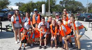 SCA Members participated in a Beach Sweep