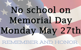 Student Holiday: Memorial Day