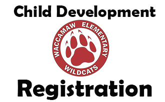 Information about enrolling students for child development for the 2020-2021 school year.