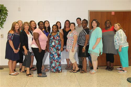 Photo of Special Education Teachers and Support Staff