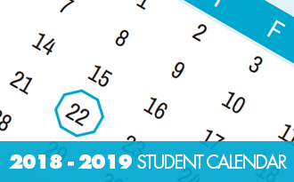 The 2018-2019 Student Planning Calendar