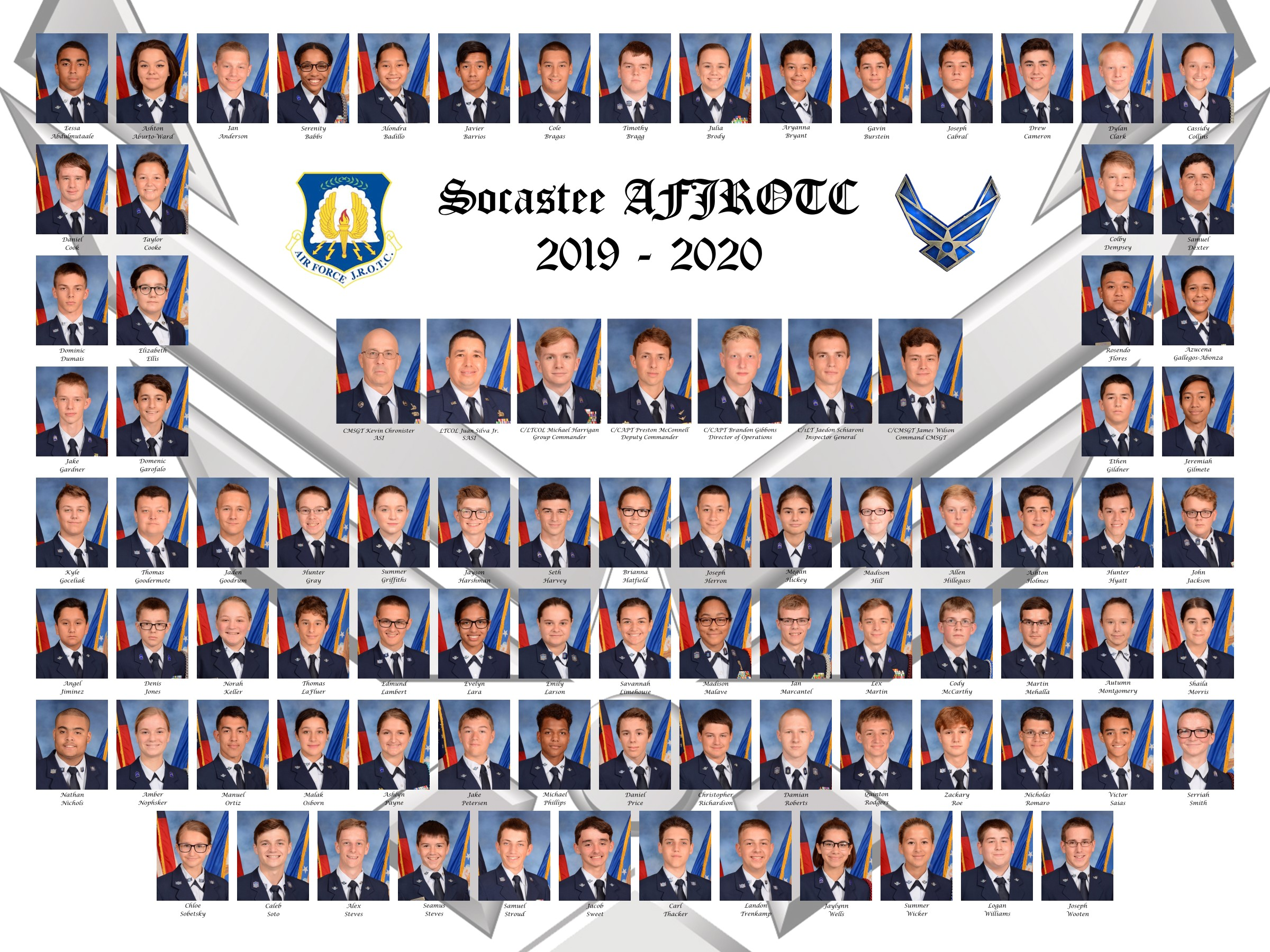 AFJROTC Class Picture