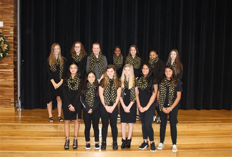 2019-2020 Lady Warriors  Basketball Team