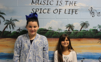 Congratulations to Addison Bohrer and Sydney Allen for being selected as members of the SC Honors Choir