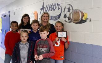 AES Earns 1st Place in HCS for Jump Rope for Heart