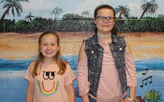 Congratulations to Ava Catherine Wells and Emma Anderson for being selected to be in the SC Honors Elementary Choir!