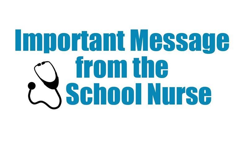 Important Message from School Nurse
