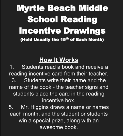 MBM Reading Incentive
