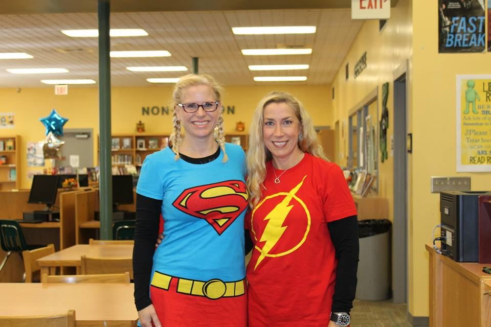 Pictured above, Left to Right: Mrs. Roesing & Mrs. Troost