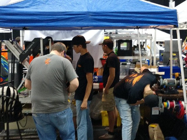 image at robotics competition