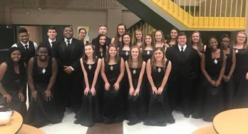 image of choral group