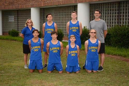 image of LHS cross country team